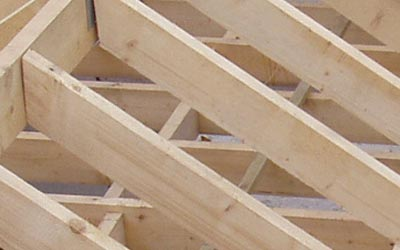 Roofing laths and roofing timber